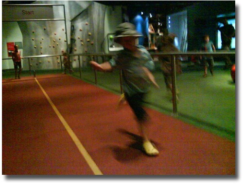 Test your running speed Melbourne Scienceworks compliments of http://www.flickr.com/photos/markomeara/2335698759/