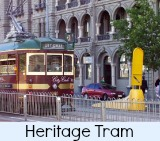 thumbnail link to site page on the free city circle tram