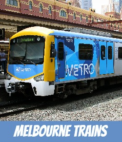 thumbnail image link to page on site for Melbourne train transport