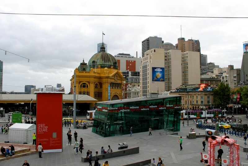 Information Center at Federation Square, Melbourne - Australia compliments of http://www.flickr.com/photos/variationblogr/6476616769/