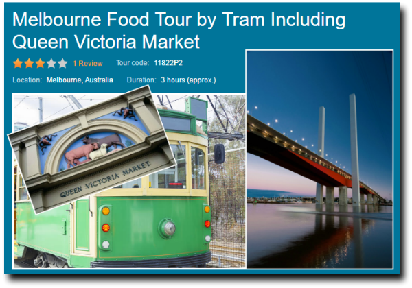 melbourne highlights and tram tour