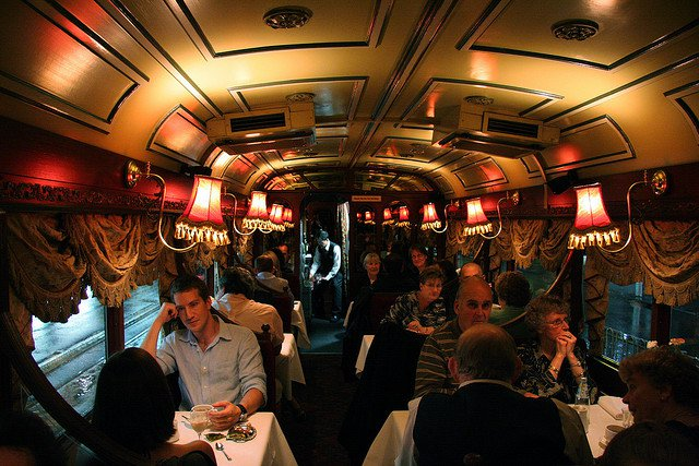 The Melbourne Colonial Tram Car Restaurant compliments of https://flic.kr/p/4J1kcn