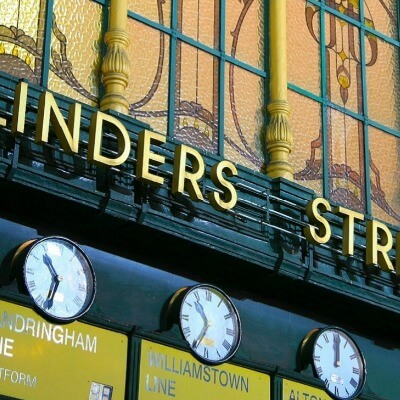Flinders Street Clocks