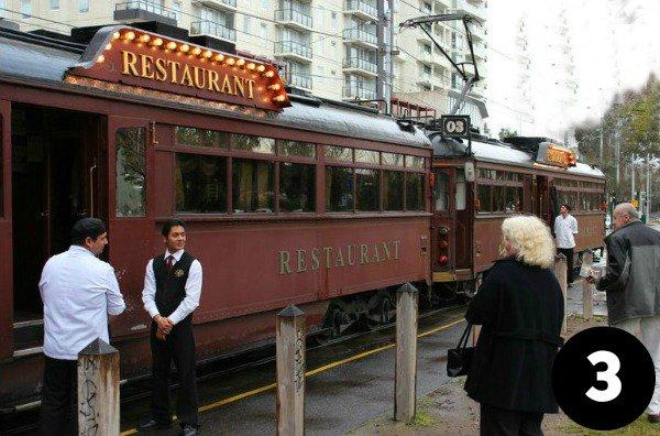 Viatour's tram car restaurant tour