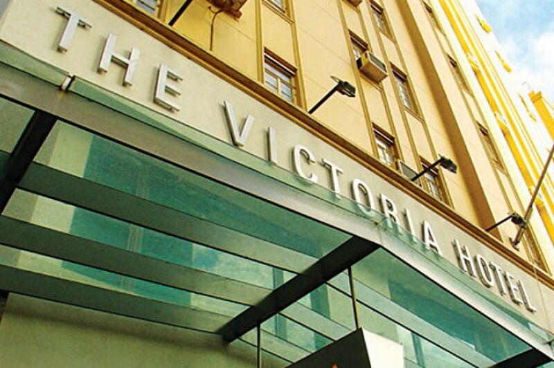 Victoria Hotel now known as the Ibis Styles Melbourne