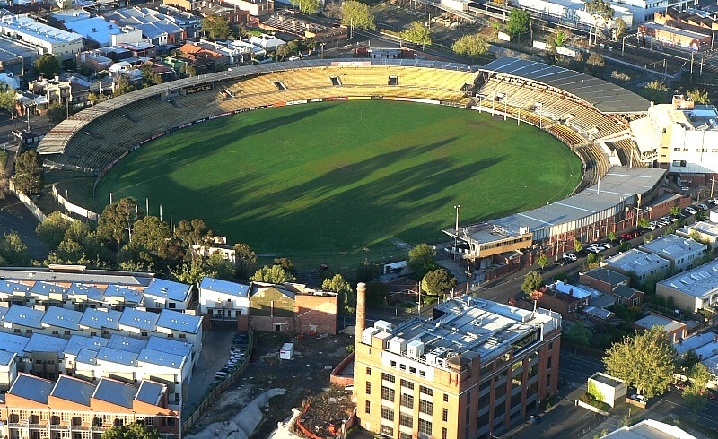 Victoria Park in Abbotsford, Victoria - Australia
