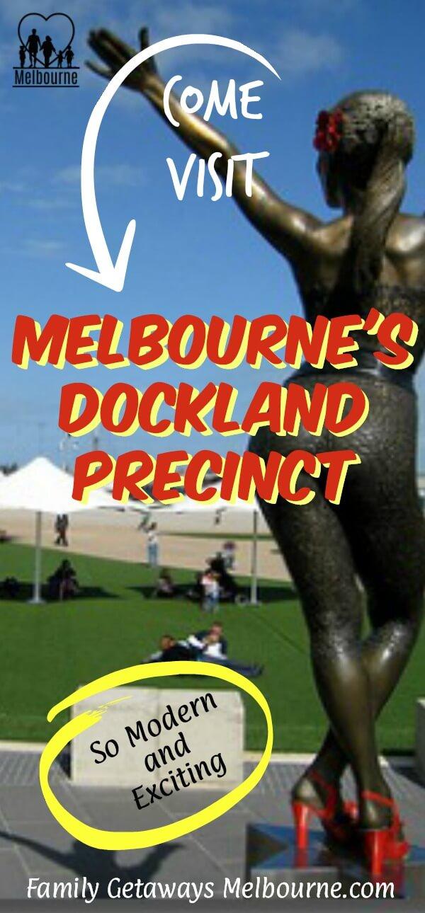 Visit Melbourne's Docklands