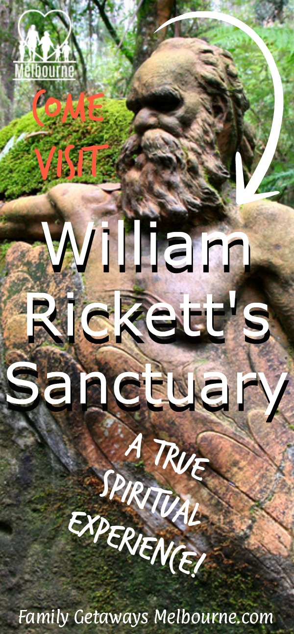 image to pin to Pinterst of the William Ricketts Sanctuary