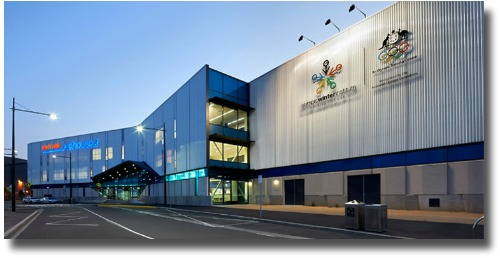 Medibank Icehouse Waterfront City Melbourne Docklands compliments of http://en.wikipedia.org/wiki/File:MEDIBANK-ICEHOUSE.jpg - This file is licensed under theCreative CommonsAttribution-Share Alike 3.0 Unportedlicense