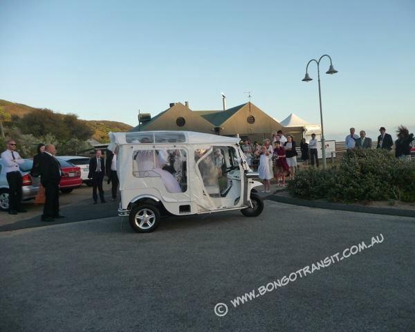 Bongo wedding transport to Sorrento back beach