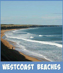 Image links to my site page on the westcoastal beaches of Port Phillip Bay