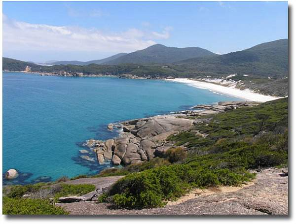 Squeaky Beach on Wilsons Promontory complements of my mate Steve Curle