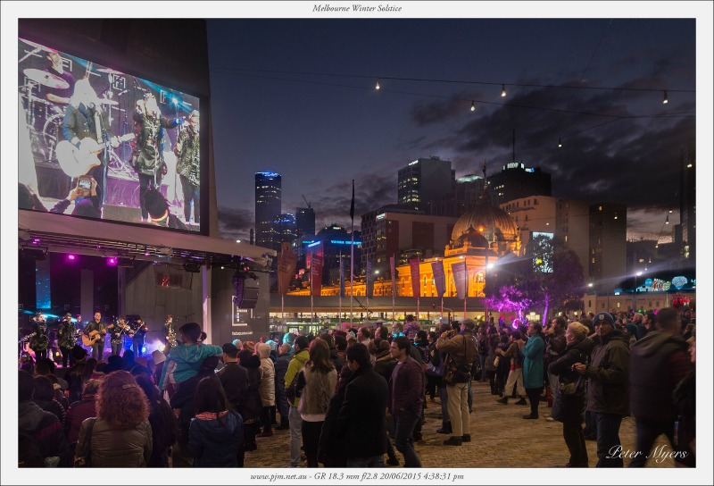 Melbourne Winter Solstice held in Federation Square compliments of https://flic.kr/p/uD67tf