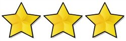 3 gold stars hotel rating