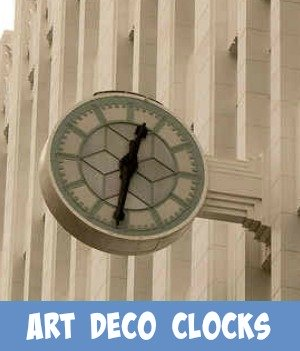 Link through to the Site's art deco clock page