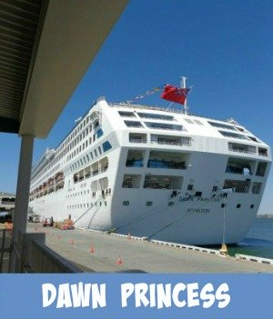 Image link to Site page on the Dawn Princess cruise ship experience
