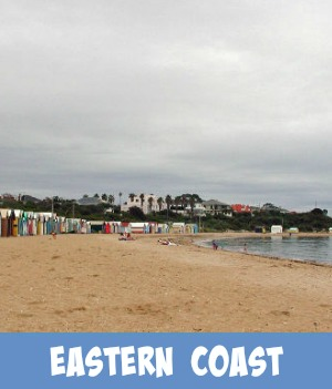 thumbnail graphic link to Site page on east coast beaches of Port Phillip Bay