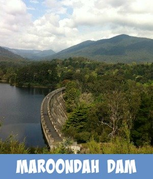 thumbnail link to site page on the Maroondah Dam