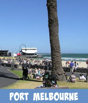 Thumbnail link to site page on Port Melbourne Beach