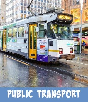 image link to site page on Melbourne Tram transport