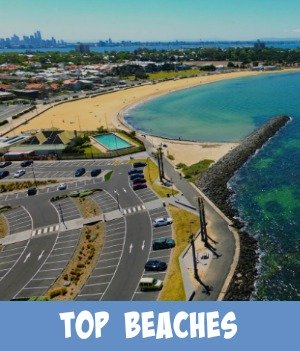 image link to site page on Melbourne's top beaches