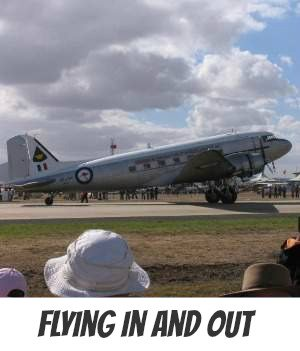 Image link to site page on flying in melbourne