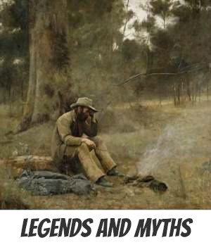 Image link to site pahe on legends and myths in Australia