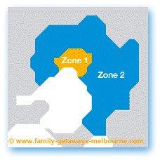 Metropolitan Zones for Public transportaion