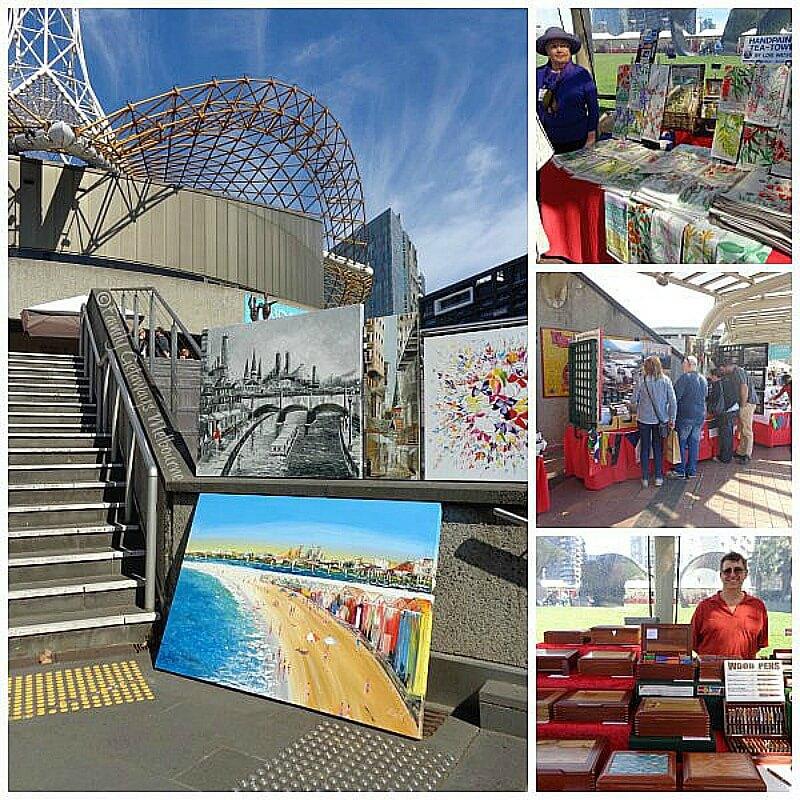 art centre sunday market