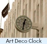Image link to art deco clock page