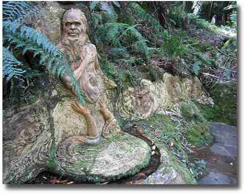Spiritual attachment to mother earth William Ricketts Sanctuary Melbourne Australia compliments of http://www.flickr.com/photos/jupiterfirelyte/7043711463/
