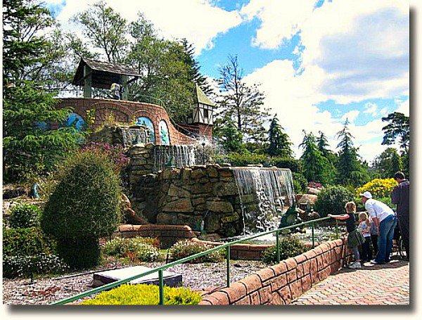 Anakie Fairytale Castle waterfall