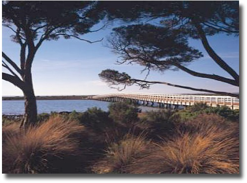 Bridge onto Churchill Island from Phillip Island