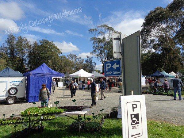 Coal Creek Farmers market car parking areas
