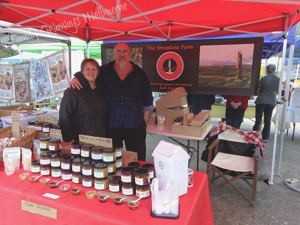 Coal Creek Farmers Market Garlic Products stall