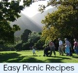 Graphic link to site page on Easy Picnic Recipes