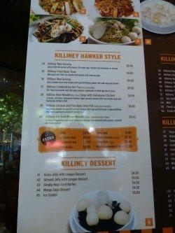 Killiney Singapore Restaurant Lygon Street