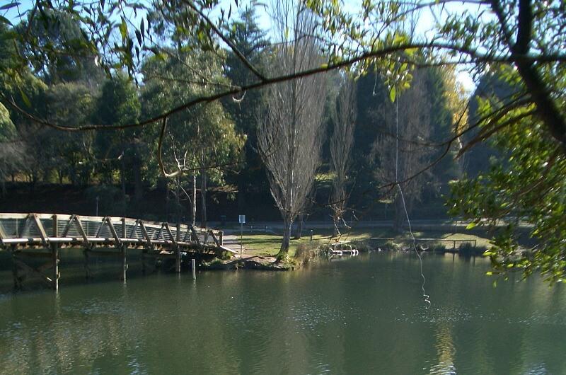 Emerald Lake Park Melbourne Australia