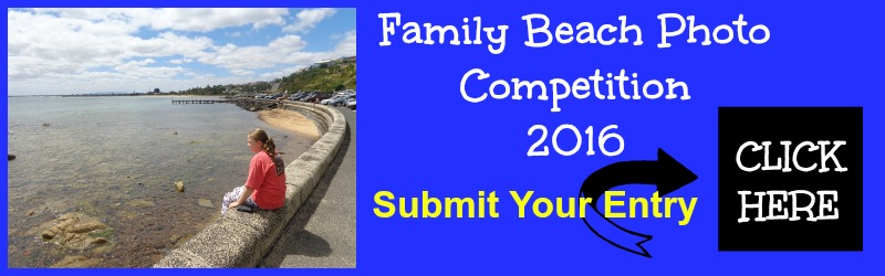 Beach family photo sharing competition for 2016 banner