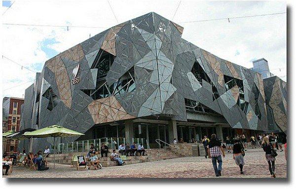 SBS Building Federation Square Melbourne Australia