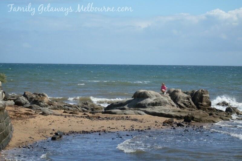 Frankston Beach rocks