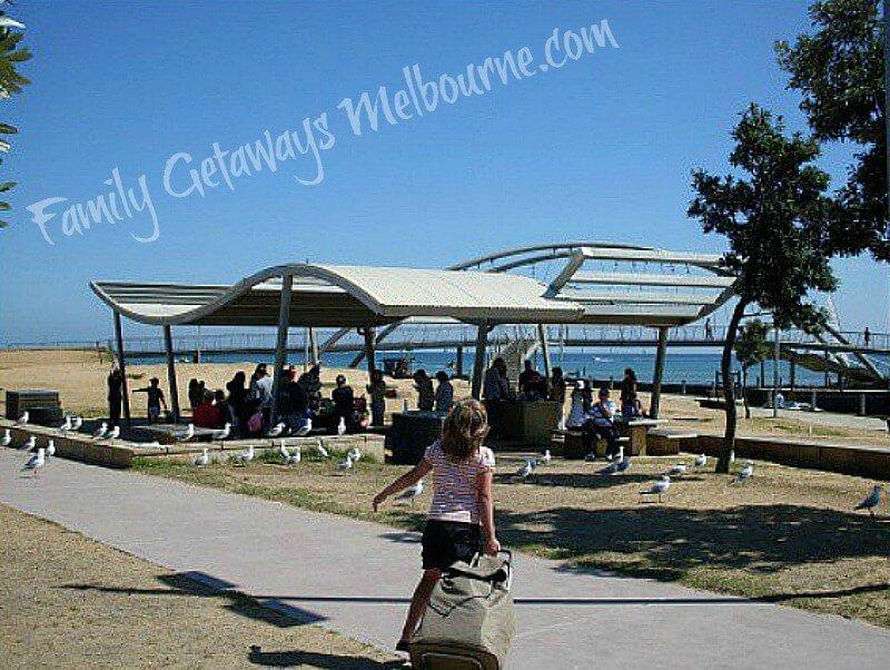 frankston beach picnic area