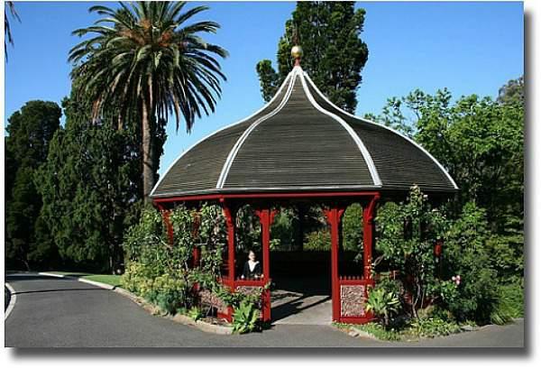 Rotunda In The Botanical Gardens Melbourne Australia compliments of http://www.flickr.com/photos/johnpetru82/2151824416/