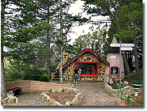 Gingerbread House Anakie Fairytale Park Victoria