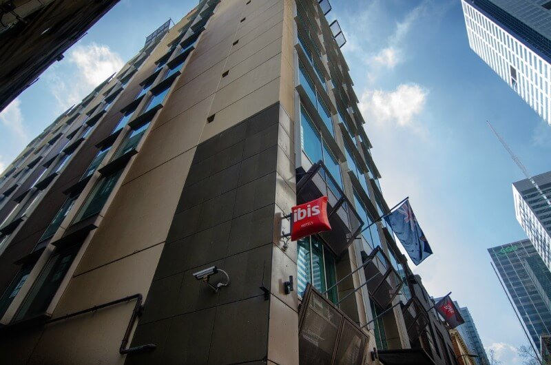 The Hotel Ibis Melbourne Little Bourke Street