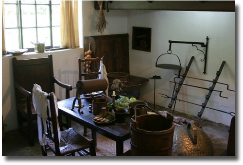 Inside Cooks Cottage in the Fitzroy Gardens Melbourne Australia compliments of http://www.flickr.com/photos/usafa87/307525241/