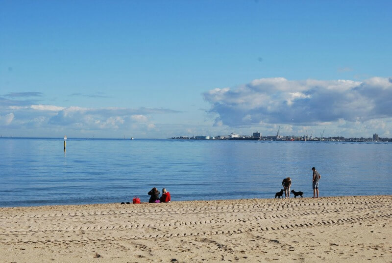 Kerferd Road Beach Port Melbourne Melbourne Australia compliments of http://www.flickr.com/photos/avlxyz/7793314274/