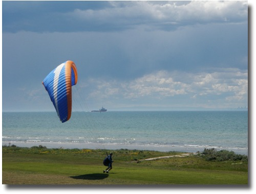 Kite flier at Indented Head Port Phillip Bay Australia compliments of http://www.flickr.com/photos/35599622@N07/4137193343/