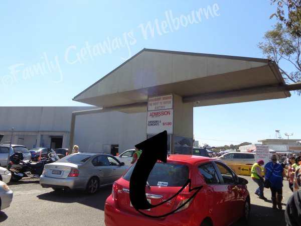 Laverton Market Entrance and admission charge
