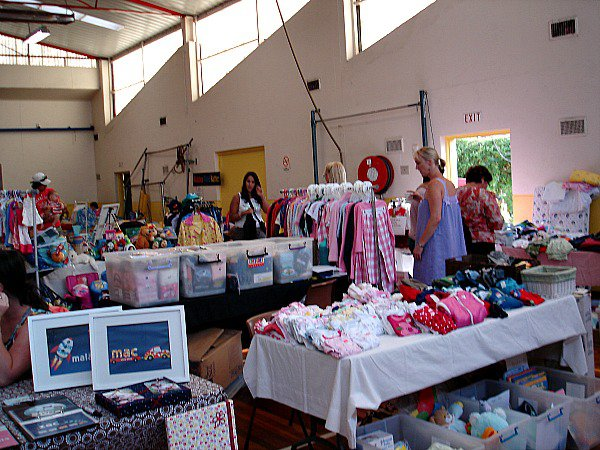 Port Melbourne Little Tackers Market stall holders